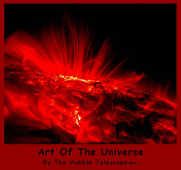 Digital Art - The Art Of The Universe 307 by The Hubble Telescope
