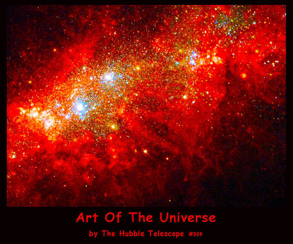 Digital Art - The Art Of The Universe 309 by The Hubble Telescope