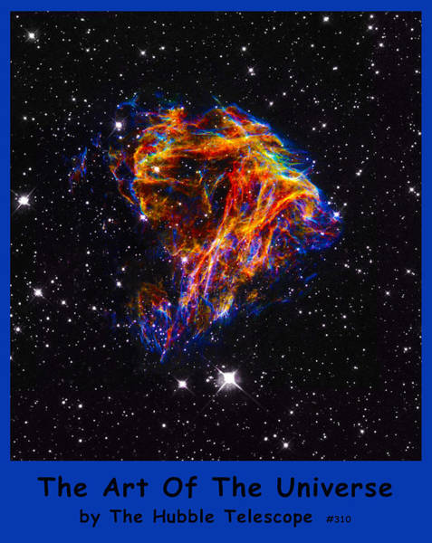 Digital Art - The Art Of The Universe 310 by The Hubble Telescope