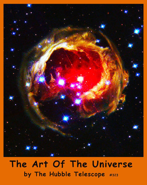 Digital Art - The Art Of The Universe 323 by The Hubble Telescope