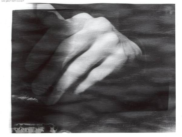 Photograph - The Artists Hand by Karin Thue