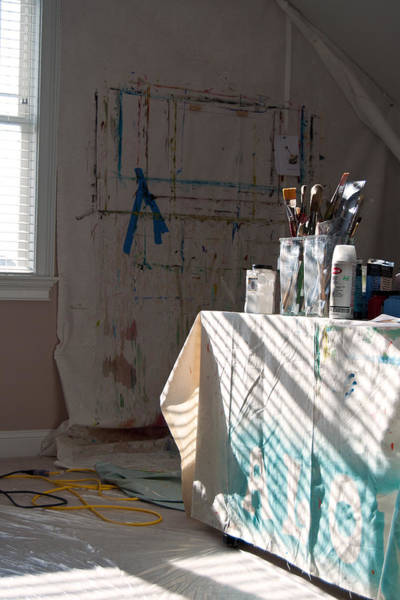Photograph - The Artists Studio by Paulette B Wright
