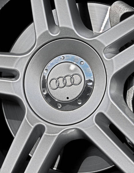 The Audi Wheel Art Print