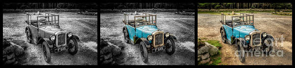 Wall Art - Photograph - The Austin 7 by Adrian Evans
