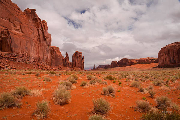 Photograph - The Awakening Monument Valley by Tim Bryan