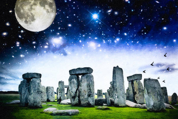 Photograph - The Awesome Mystery Of Stonehenge by Mark Tisdale