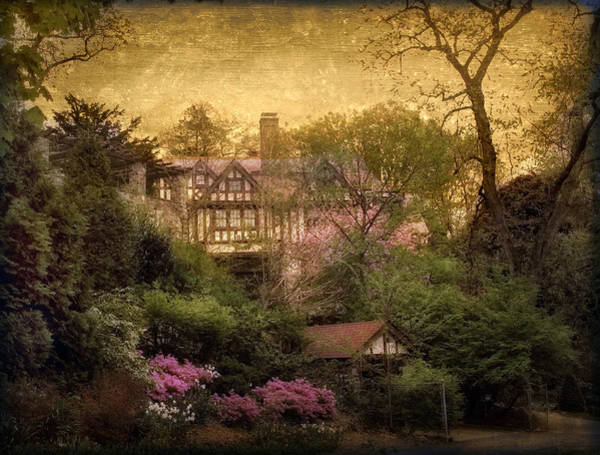 Tudor Photograph - The Azalea Garden by Jessica Jenney
