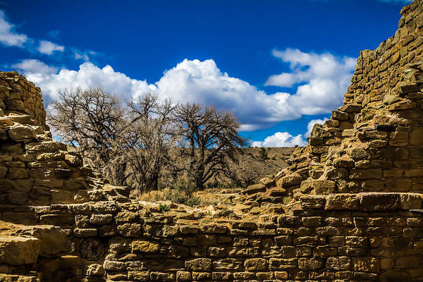 Photograph - The Aztec Ruins by Ron Pate