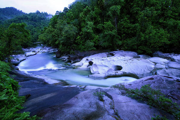 Far North Queensland Wall Art - Photograph - The Babinda Boulders Is A Fast-flowing by Paul Dymond