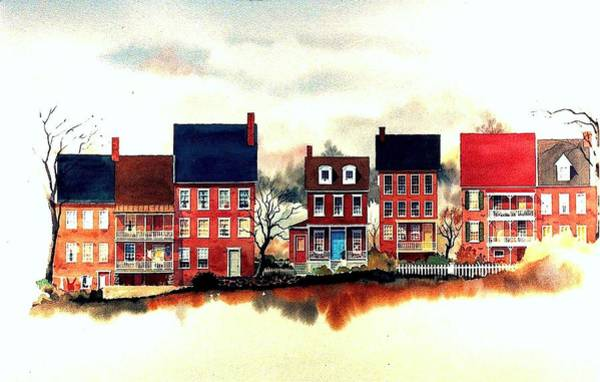 Painting - The Back Of The Strand by William Renzulli