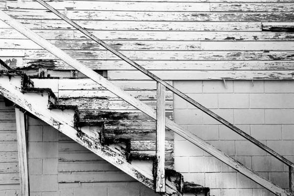 Photograph - The Back Stairs by Beverly Stapleton