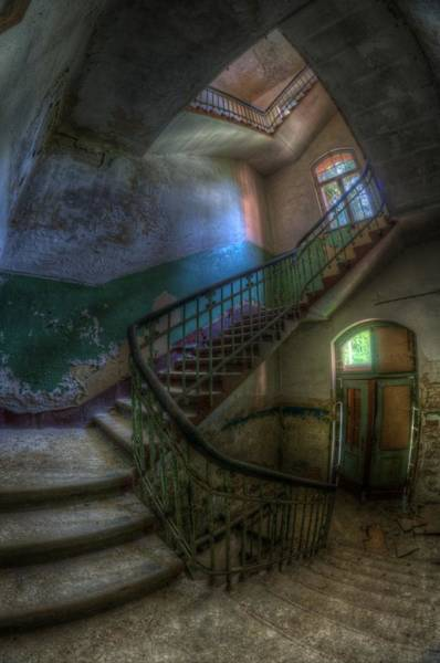 Wall Art - Digital Art - The Back Stairs by Nathan Wright