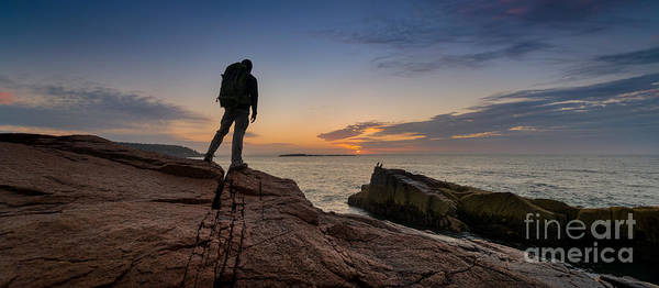 Wall Art - Photograph - The Backpacker Pano by Michael Ver Sprill