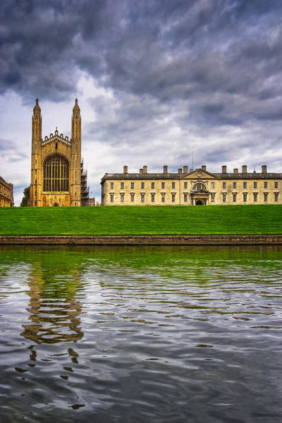Photograph - The Backs - Kings College - Cambridge by Mark Tisdale