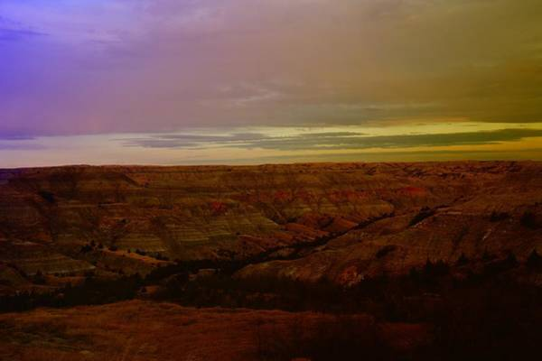 North Dakota Photograph - The Badlands by Jeff Swan