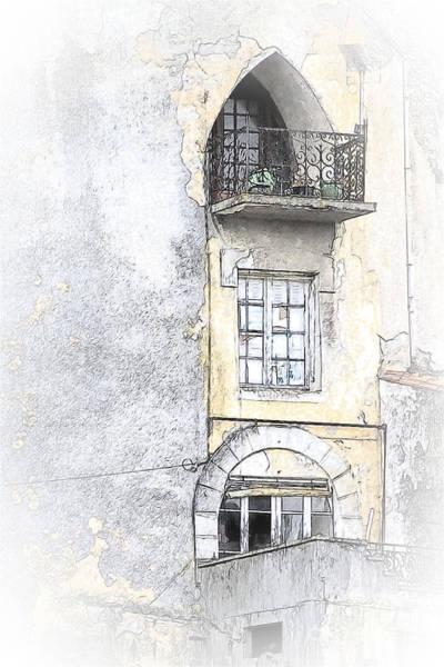 Photograph - The Balcony Scene II by Heiko Koehrer-Wagner