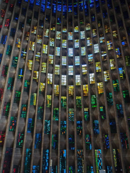 Photograph - The Baptistry Window by Stephen Barrie
