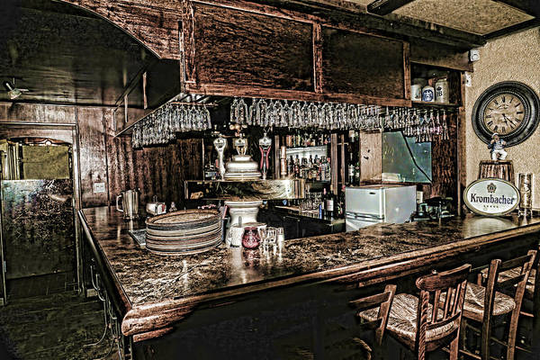 Photograph - The Bar In The Black Forest Harrison Hot Springs Bc by Lawrence Christopher