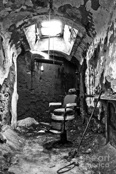 Photograph - The Barber Chair - Bw by Paul W Faust -  Impressions of Light
