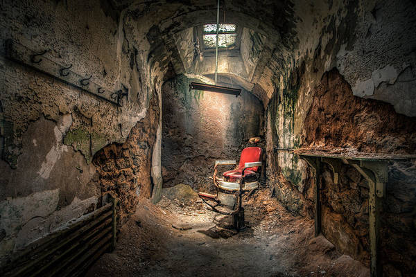 Photograph - The Barber's Chair -the Demon Barber by Gary Heller