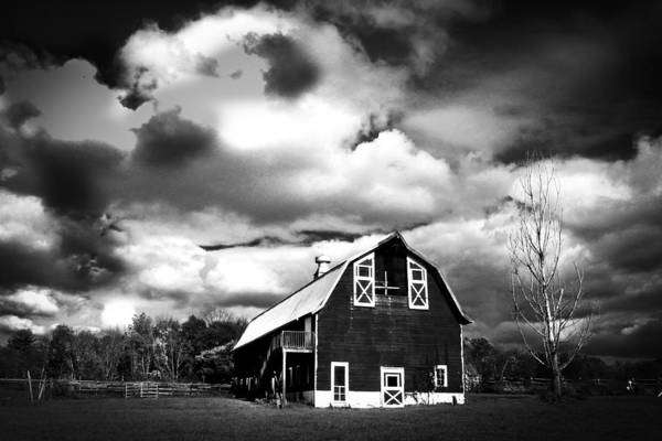 Wall Art - Photograph - The Barn Before The Storm by Frank Savarese