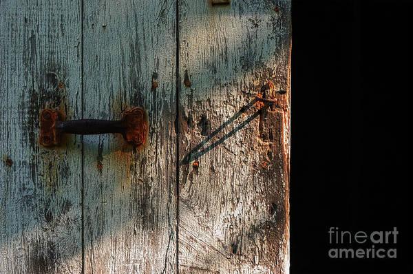 Photograph - The Barn Door by Debra Fedchin