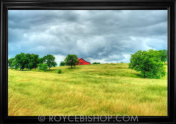Photograph - The Baron's Barn by Royce Bishop