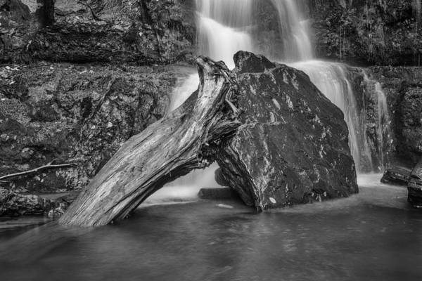 Catskills Photograph - The Base Of The Falls by Rick Berk