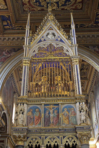 Photograph - The Basilica Of Saint John Lateran by Tony Murtagh