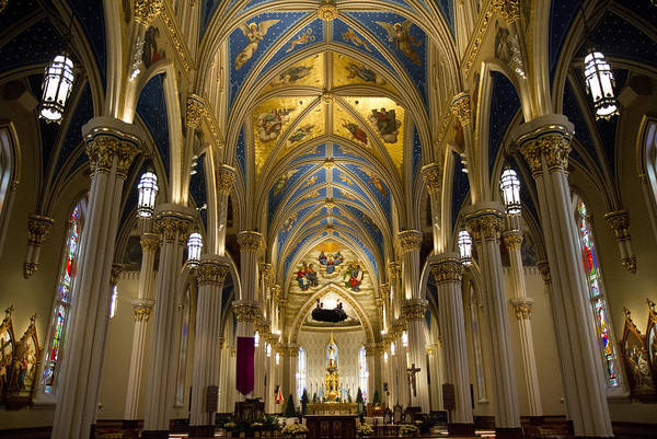 Photograph - The Basilica Of The Sacred Heart by Nathan Rupert