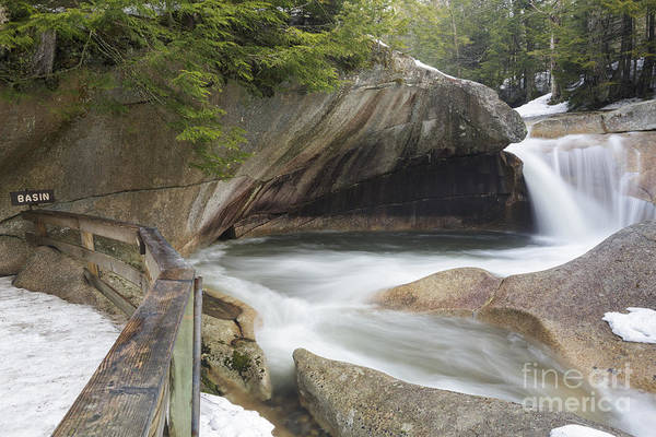 Pemigewasset River Wall Art - Photograph - The Basin - Franconia Notch State Park New Hampshire by Erin Paul Donovan