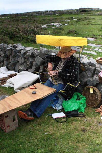 Photograph - Handicrafts On The Aran Islands by Aidan Moran