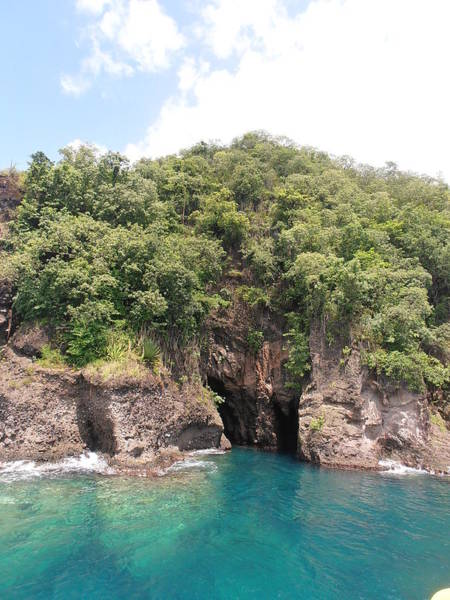 Photograph - The Bat Caves Of St. Lucia by Kimberly Perry