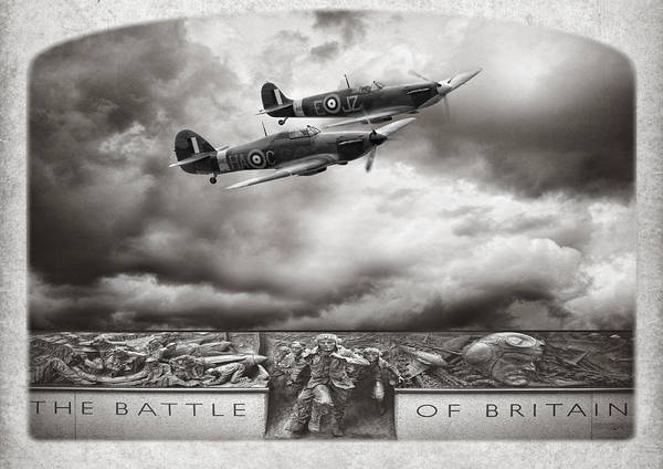 Battle Of Britain Digital Art - The Battle Of Britain by Peter Chilelli