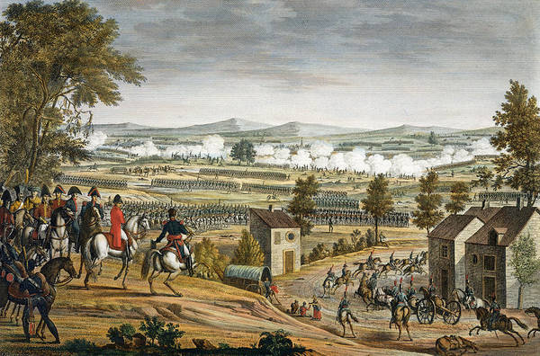 Soldier Drawing - The Battle Of Lutzen, 2 May 1813 by Louis Francois Couche