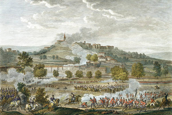 Italy Drawing - The Battle Of Montebello And Casteggio by Antoine Charles Horace Vernet