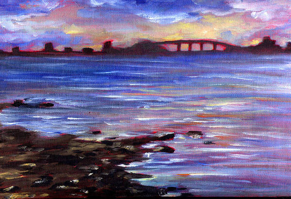 Painting - The Bay by Nada Meeks