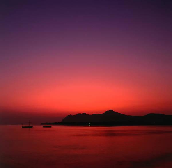 Dawn Photograph - The Bay Of Pollensa At Dawn by David C Tomlinson