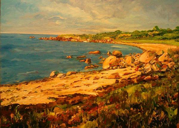 Painting - The Bay by Ray Khalife