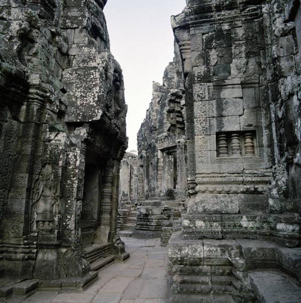 Photograph - The Bayon Temple by Shaun Higson