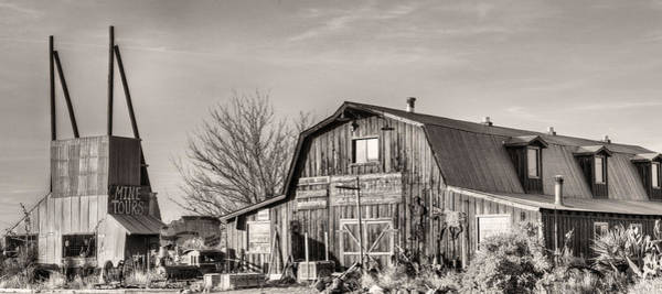 Photograph - The Bbq Barn by JC Findley