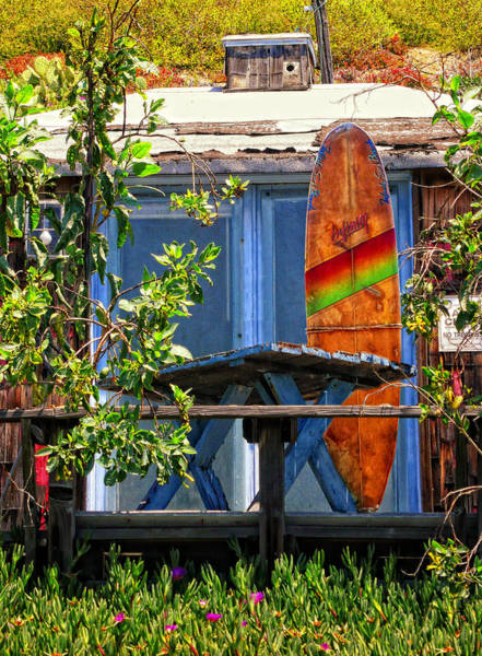 Wall Art - Photograph - The Beach Shack by Ron Regalado