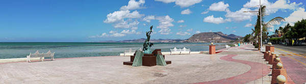 Malecon Wall Art - Photograph - The Beachside Strolling Malecon by Panoramic Images