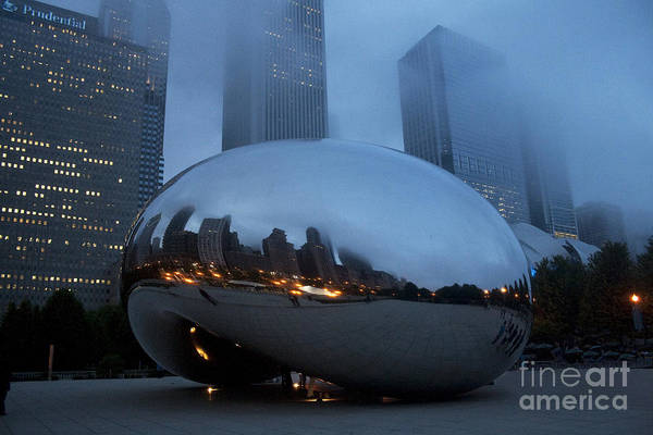 Photograph - The Bean And Fog by Crystal Nederman