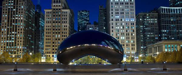 Millennium Park Photograph - The Bean At Millennium Park Chicago by Steve Gadomski