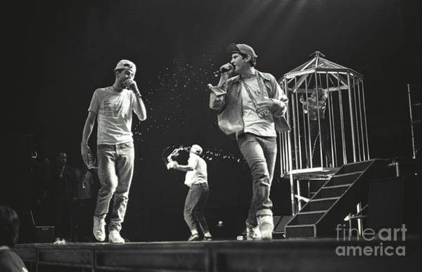 Mike D Photograph - The Beastie Boys by Concert Photos