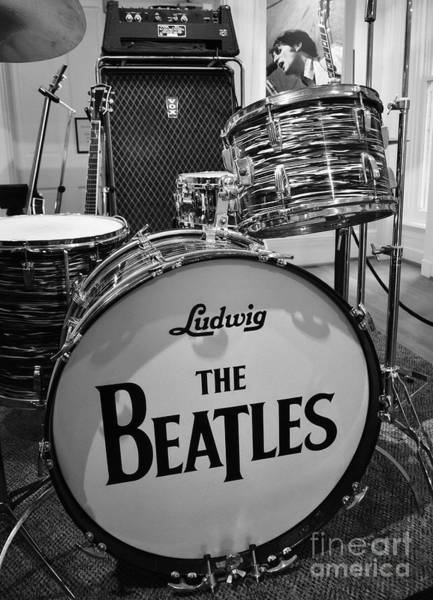 Sixties Photograph - The Beat Goes On by Mel Steinhauer