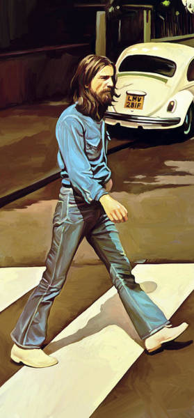 John Singer Painting - The Beatles Abbey Road Artwork Part 1 Of 4 by Sheraz A