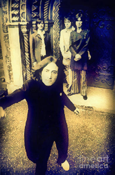 Photograph - The Beatles - Camera Adjustment by Paulette B Wright