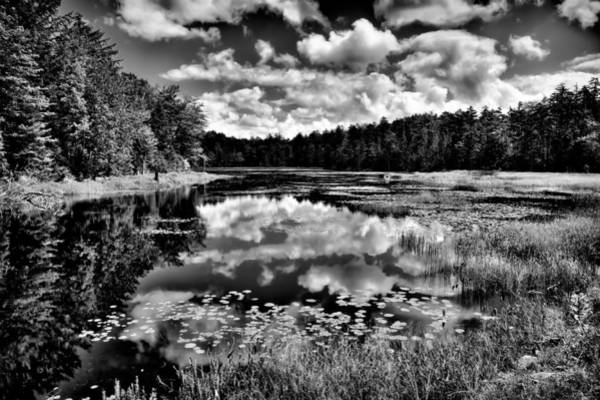 Photograph - The Beautiful Fly Pond On Rondaxe Road - Old Forge Ny by David Patterson